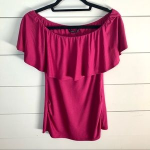 PATTYBOUTIK Off The Shoulder Top Size Small
